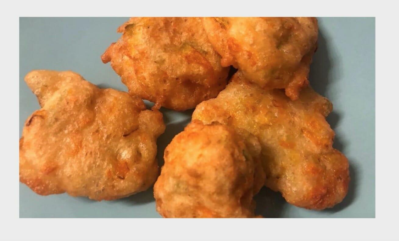 la ricetta delle frittelle di sciurilli di UNF Donna