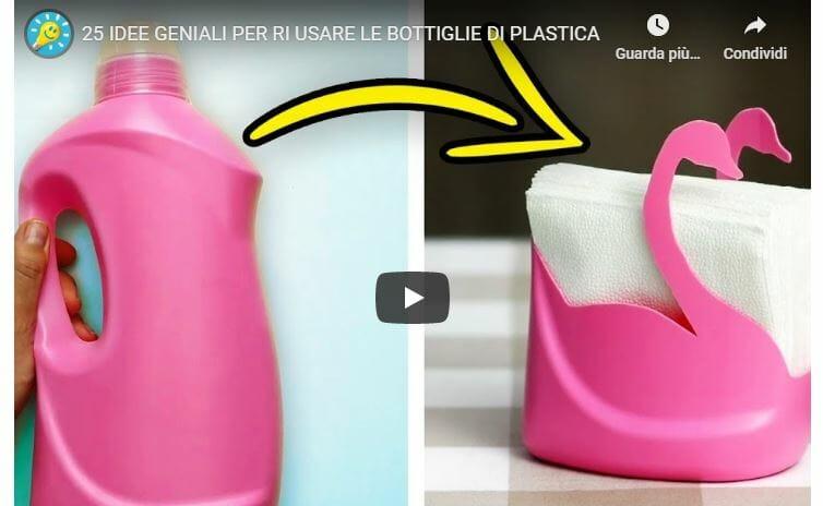 idee per riciclare plastica