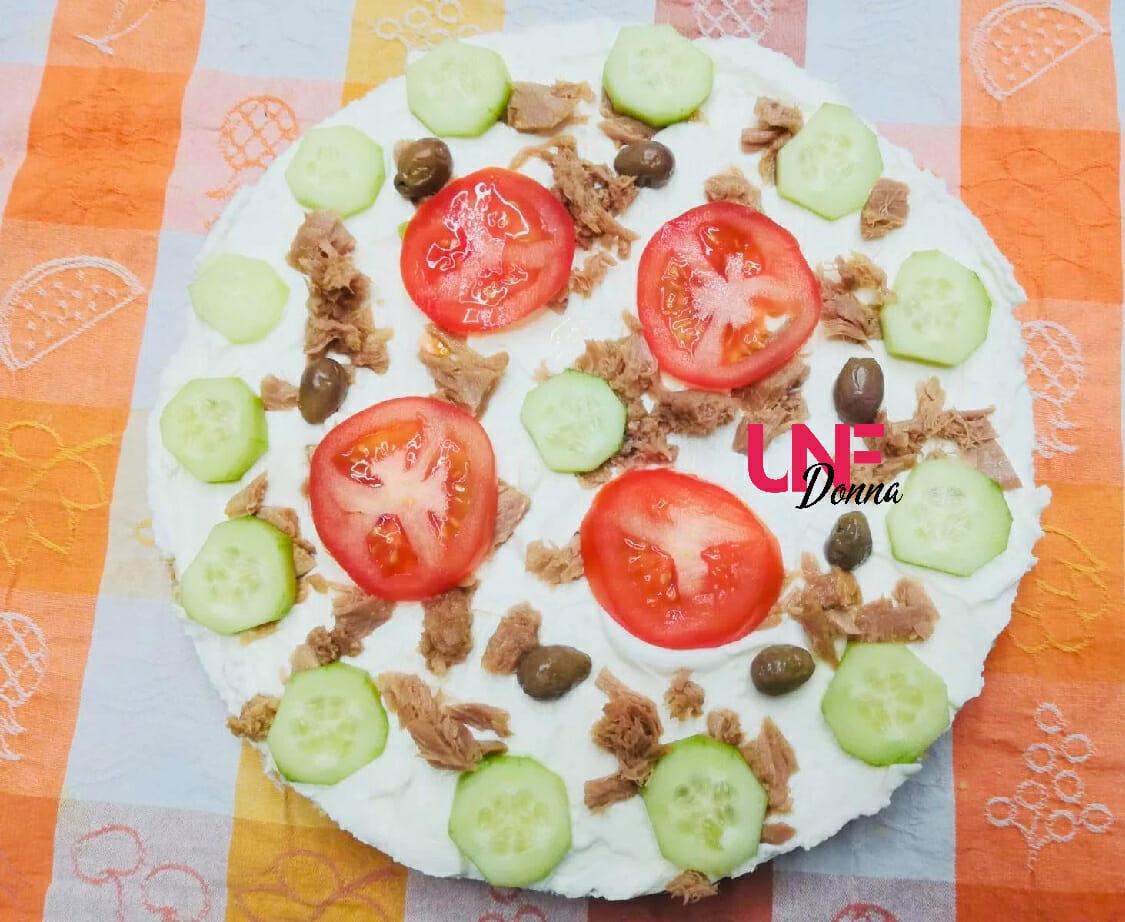 la ricetta della cheesecake salata