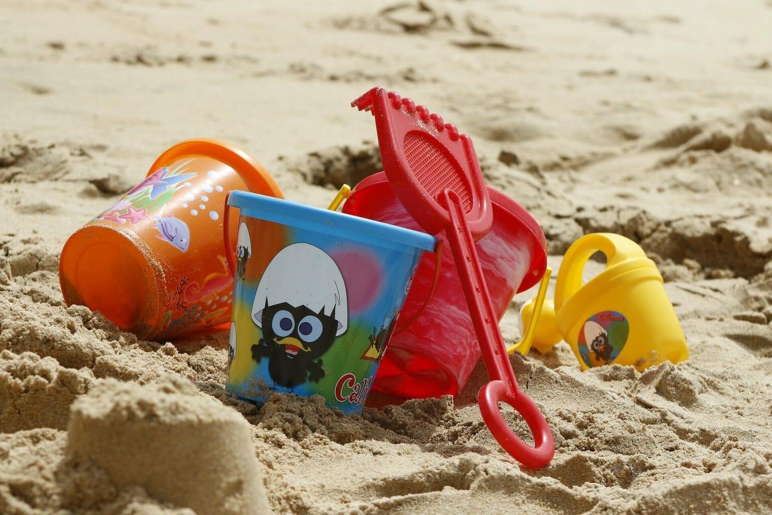 Giocattoli per il mare