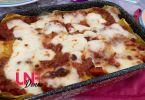 la ricetta della lasagna senza lattosio