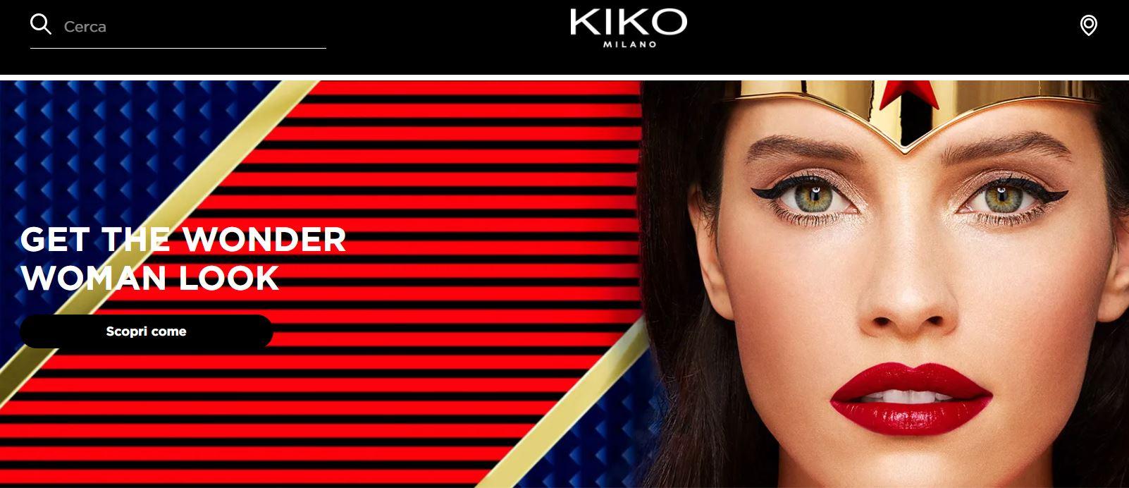 kiko collezione wonder woman