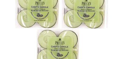 candele mangia odori