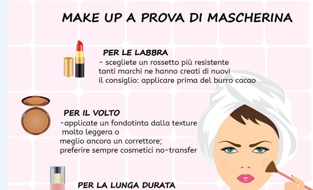 make up a prova di mascherina unfdonna