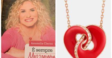 la collana di antonella clerici cuore