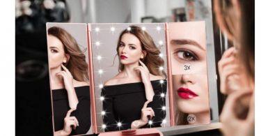 specchio che si illumina regalo natale