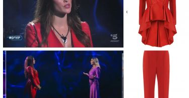 look dayane mello in rosso