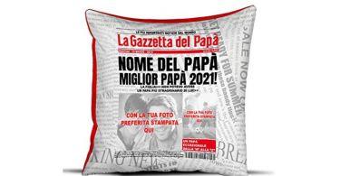 cuscino festa del papa