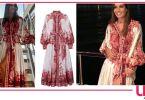 vestito elisabetta gregoraci